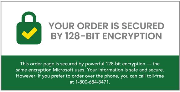 128-Bit Encryption explanation image.